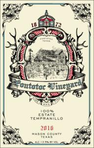 Ponotoc Vineyard 2016 Estate Tempranillo Wine